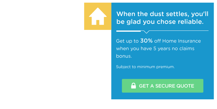 Up to 30% off Home Insurance