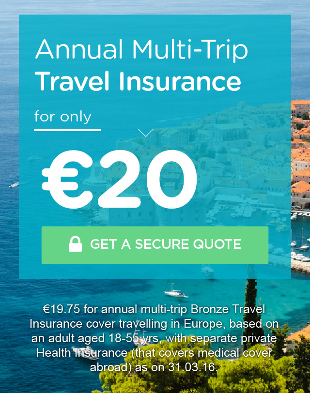 Cheap Travel Insurance Ireland