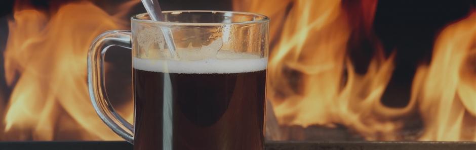 Five fool-proof steps for a roaring fire plus Irish Coffee recipe